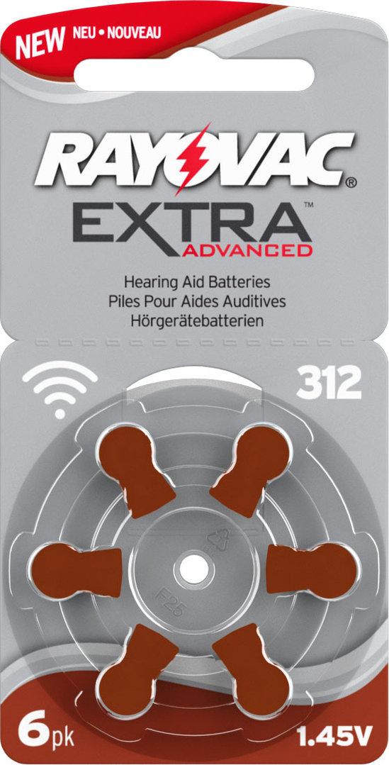 rayovac h rger tebatterie 312 paket mit 30 h rger tebatterien. Black Bedroom Furniture Sets. Home Design Ideas